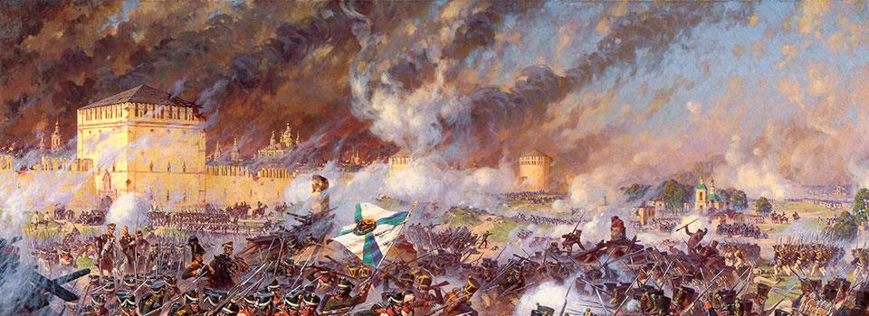 Смоленское сражение 1812 года на современной карте Яндекса