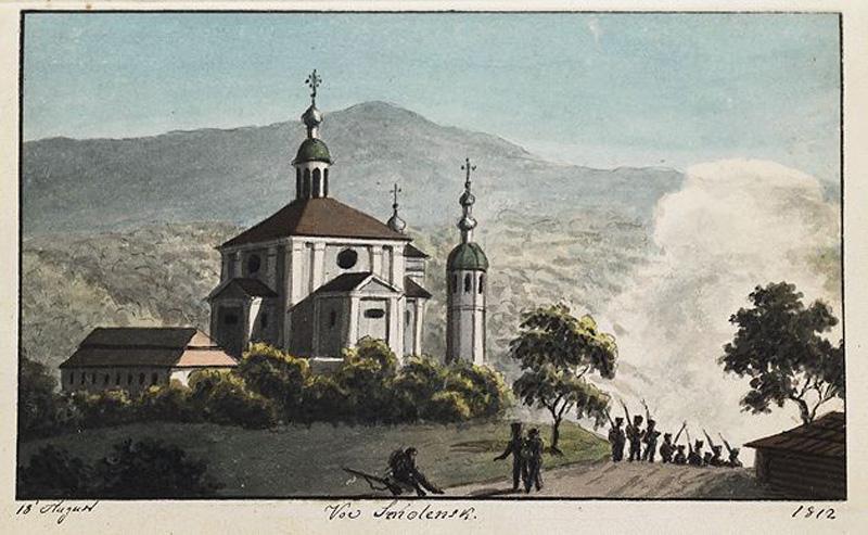 Martens, Smolensk 1812