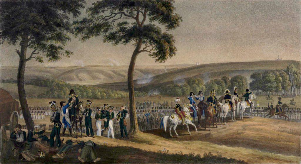 Фабер дю Фор. Перед Смоленском 16 августа 1812 года