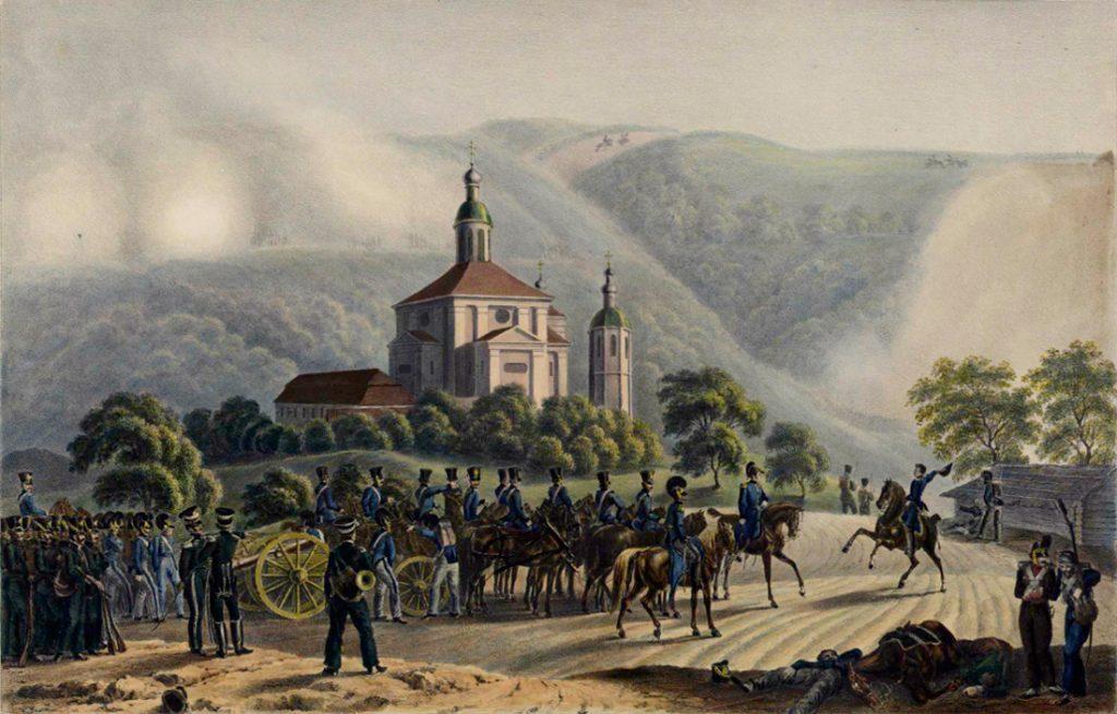 Фабер дю Фор. Перед Смоленском 18 августа 1812 года, 5 часов утра