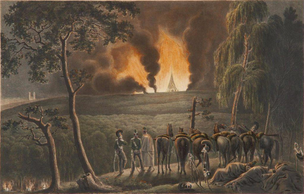Фабер дю Фор. Перед Смоленском 17 августа 1812 года, 10 часов вечера