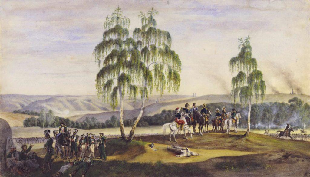 Фабер дю Фор. Перед Смоленском 16 августа 1812 года, Ингольштадт