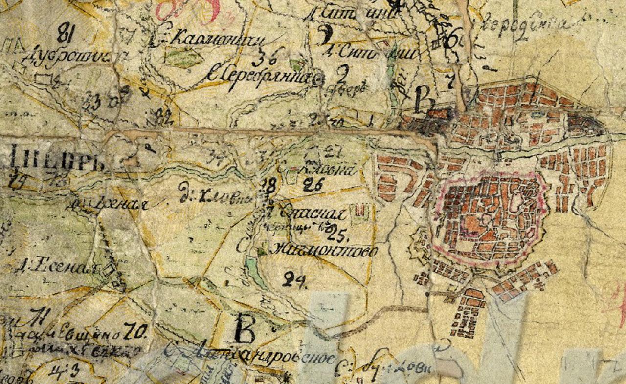 1792 г., Смоленск, Спасская пустошь